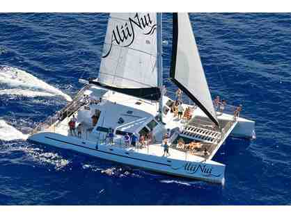 Alii Nui 5 or 6 hour Morning Snorkel Sail for Two