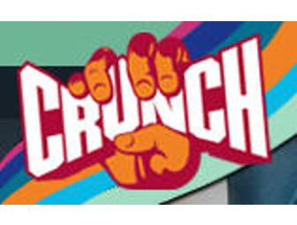 Crunch Gym - One Month All Access Membership + Personal Training *Online Only*