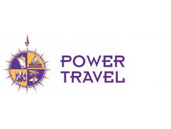 $200 Gift Certificate for a Trip Booked Through Power Travel