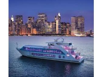 2 Tickets for a Saturday Night Cocktail Cruise on Hornblower (New York)