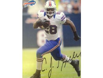 Buffalo Bills Signed Laser Photos - CJ Spiller and Macell Dareus