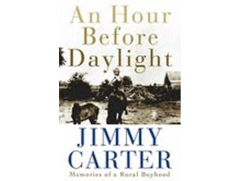 Autographed Copy of An Hour Before Daylight by Jimmy Carter