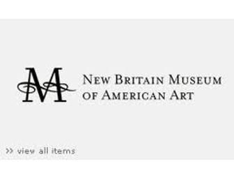 Admission Tickets for the New Britain Museum of American Art (CT)