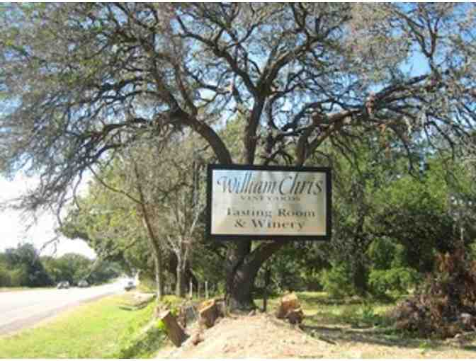 Wine Tasting and Winery Tour at William Chris Vineyards (HYE, TX)