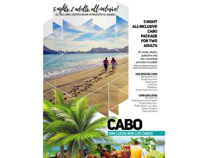 5 Night All-Inclusive Cabo Package for Two Adults (Mexico)