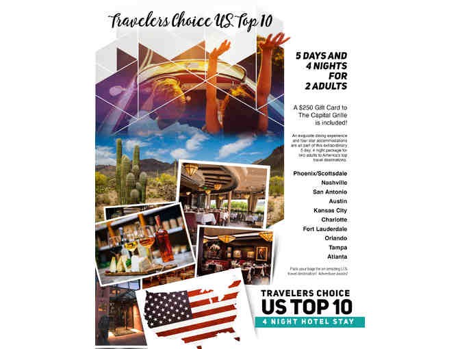 Travelers Choice US Top Travel Destinations for Two - Photo 2
