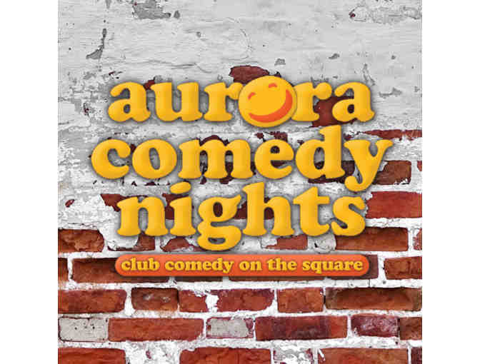 Gift certificate for two admission passes to Aurora Comedy Nights (LAWRENCEVILLE, GA) - Photo 1