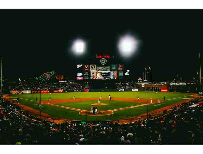 SF Giants vs Atlanta Braves - four premium baseball tickets