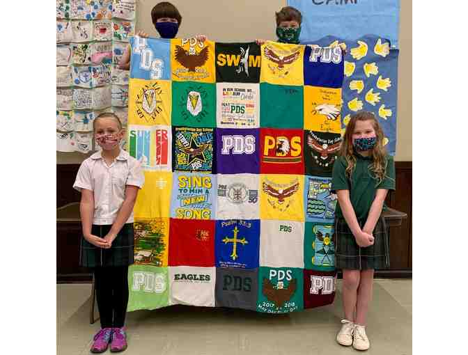 2021 3rd Grade Project - PDS T-shirt Quilt - Photo 1