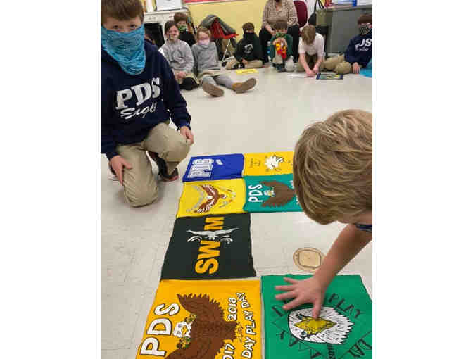 2021 3rd Grade Project - PDS T-shirt Quilt - Photo 6