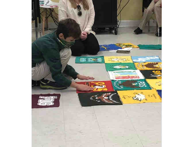 2021 3rd Grade Project - PDS T-shirt Quilt - Photo 9