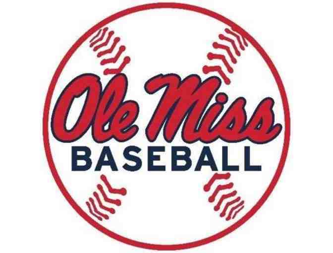 Ole Miss Dugout CLUB baseball tickets + parking pass - Photo 1