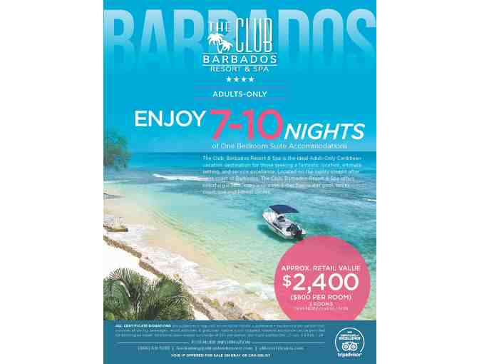 7-9 Nights at The Club, Barbados Resort & Spa is the Ideal Adult-Only Caribbean Vacation - Photo 1