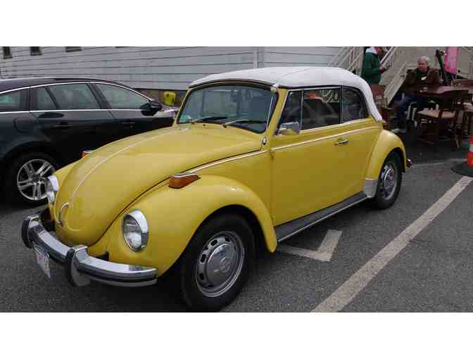 1972 Vintage VW Beetle, 2-Door Convertable