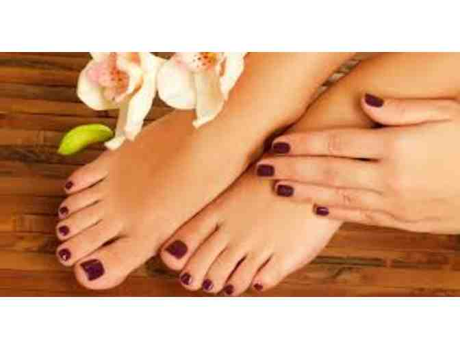 $65 Gift Certificate for Classic Manicure & Pedicure at Makeovers