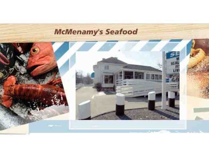 $50 Certificate to McMenamy's Seafood