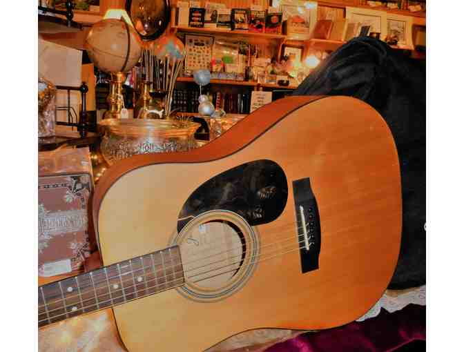Full-Size Jasmine Acoustic Guitar with case