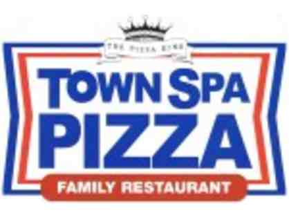 $25 Town Spa Gift Card, T-shirt, and Pizza Mouse Pad