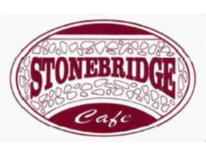 $25 Gift Card to the Stonebridge Cafe