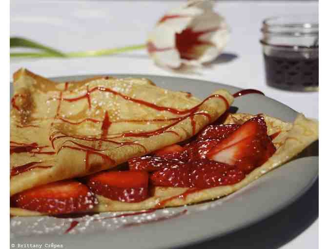 $100 discount on an order of 35 person or more at Brittany Crepes