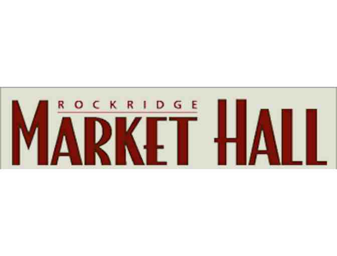 A Taste of Market Hall ($100 gift certificate)