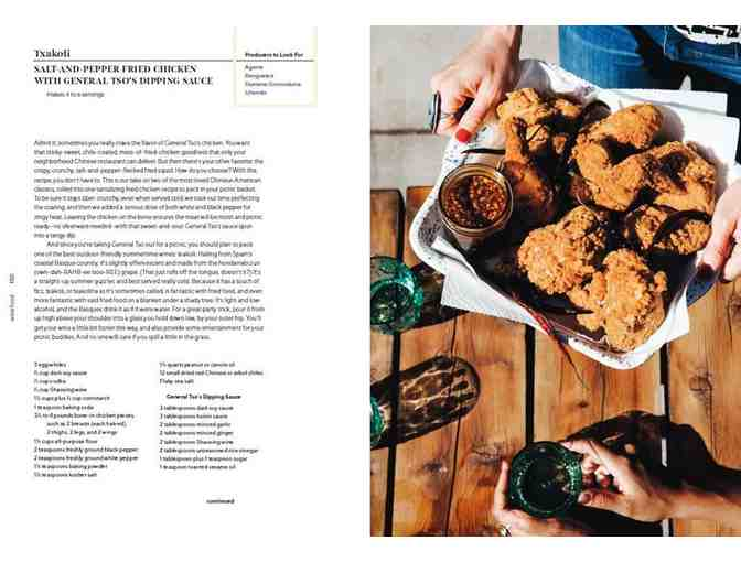 Cookbook : Wine Food, New Adventures in Drinking and Cooking
