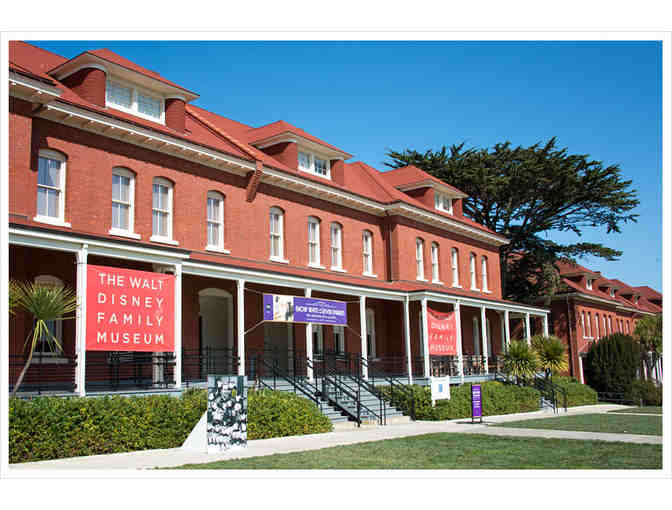 4 Tickets to the Walt Disney Family Museum