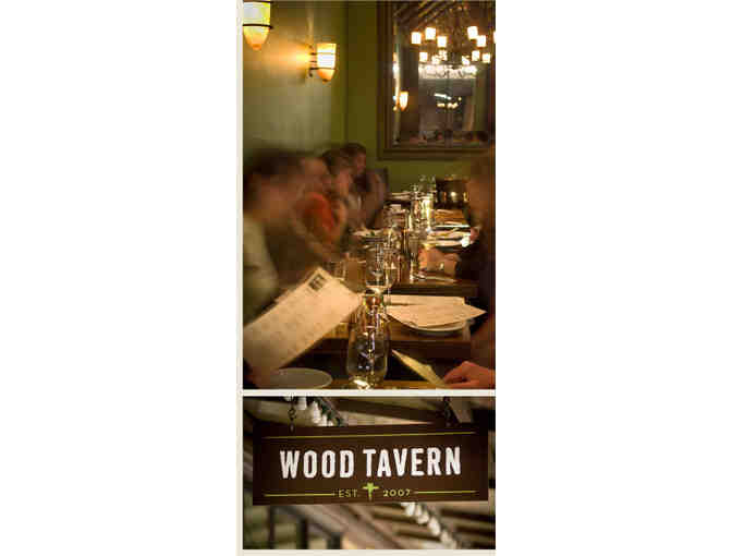 $200 Gift Certificate to Wood Tavern