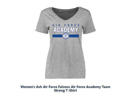 Air Force Academy t-shirt grey