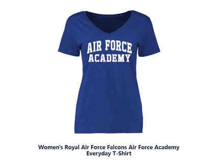Air Force Academy t-shirt Blue