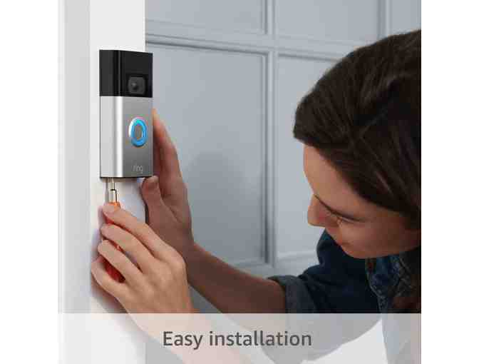 All-new Ring Video Doorbell - 1080p HD video, improved motion detection, easy installation
