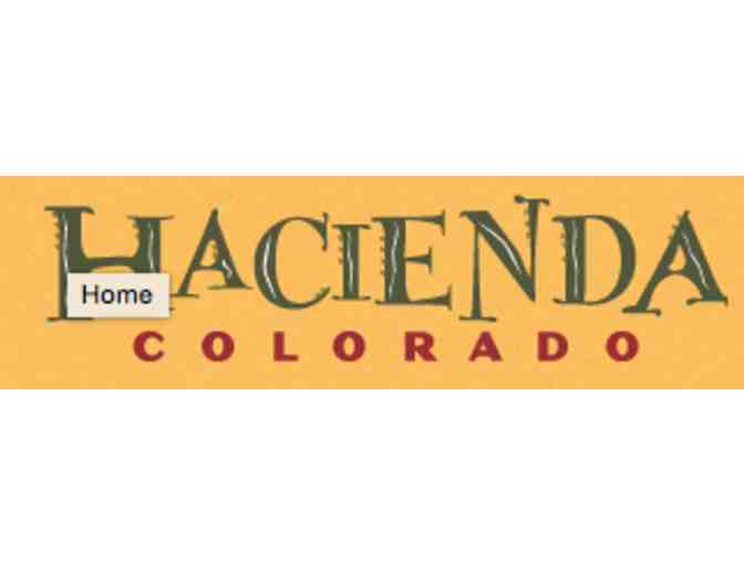 $25 Lunch or Dinner certificate - Hacienda Colorado - Photo 1
