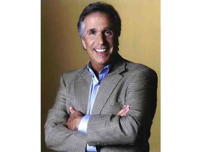Lunch with Henry Winkler