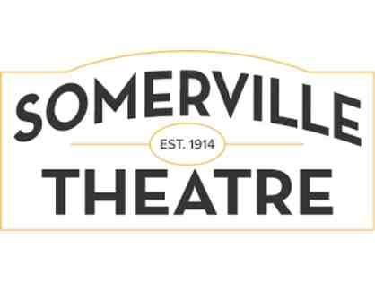 Movie Passes for Two - Somerville Theater or Capital Theater