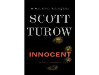 3 signed Turow Best Sellers, including JUST RELEASED 'Innocent'!!