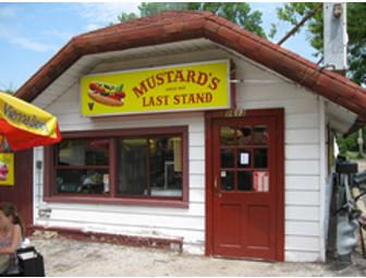 $10 Gift Certificate to Mustard's Last Stand