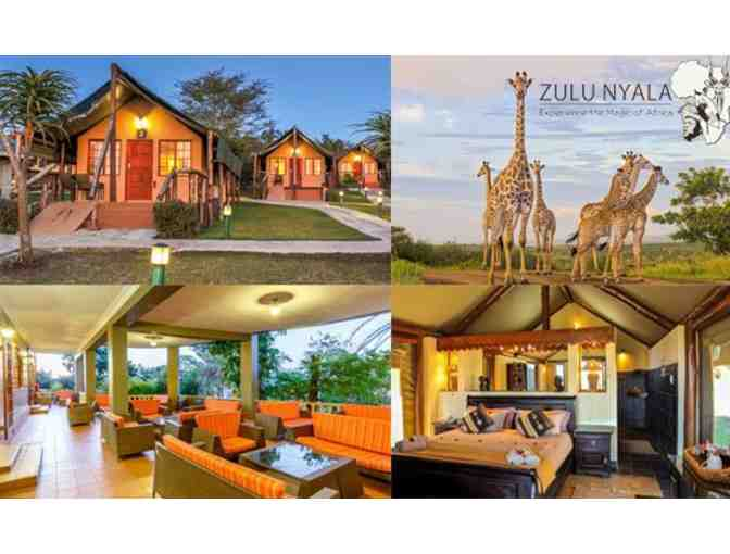 South Africa Photo Safari for Two at Zulu Nyala Heritage Safari Lodge