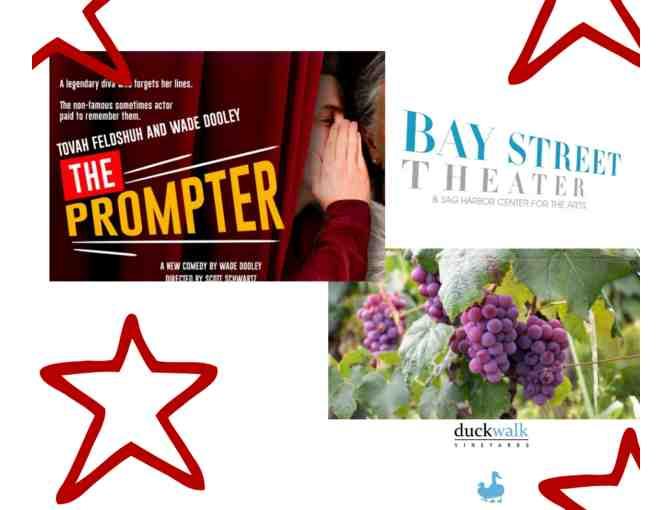 Bay Street Theater Show & Duck Walk VIP Wine Tastings Experience