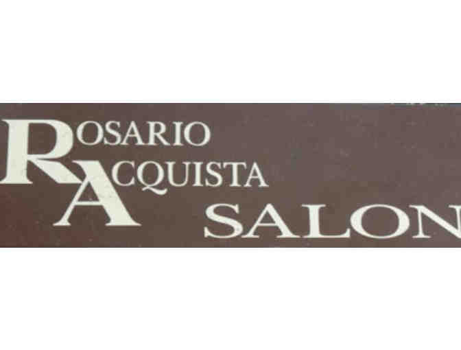 Haircut and Blowdry at Rosario Acquista