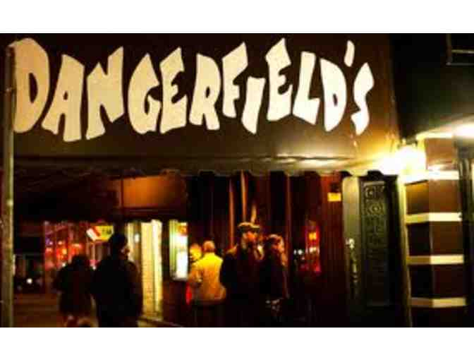 Cover Charges for Four to a Dangerfield's Comedy Show