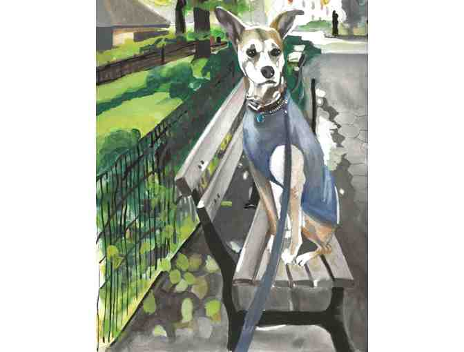 Custom Painting of Your Pet by Alison Jones