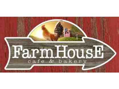 Six Free Cinnamon Roll Certificates at The FarmHouse Cafe