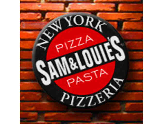 Pizza for a Year-12 Sam & Louie's Pizza Gift Certificates - Photo 1