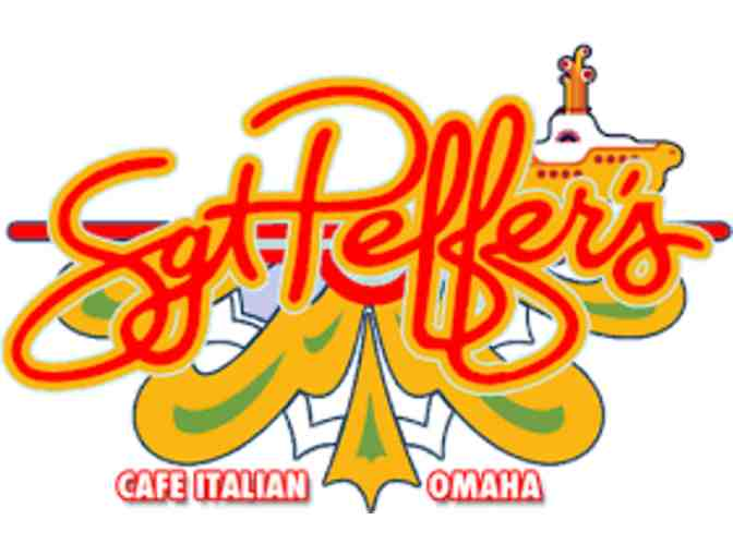 $25 Gift Certificate to Sgt Peffer's Italian Cafe - Photo 1
