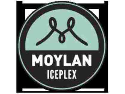10 Passes for public skating and skate rental at Moylan Iceplex