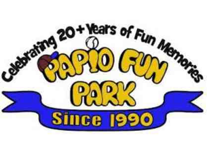 Certificate for Two Wristbands each valid for 2 activities at Papio Fun Park