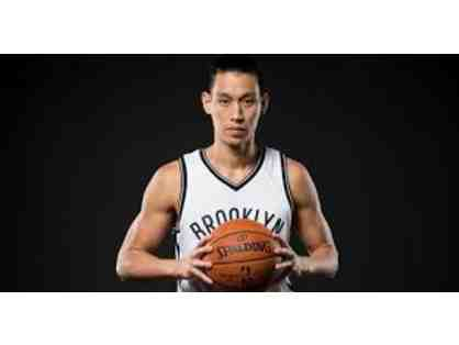 Brooklyn Nets:  Autographed Photo of Jeremy Lin