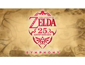 Exclusive! 2 Tickets- 25th Anniversary of the Legend of  Zelda Symphony at the Pantages