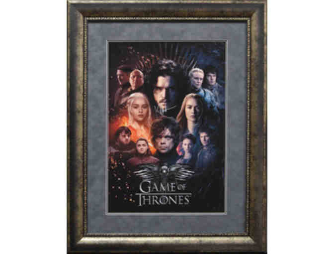 Game of Thrones Signed by Kit Harington (28x36)