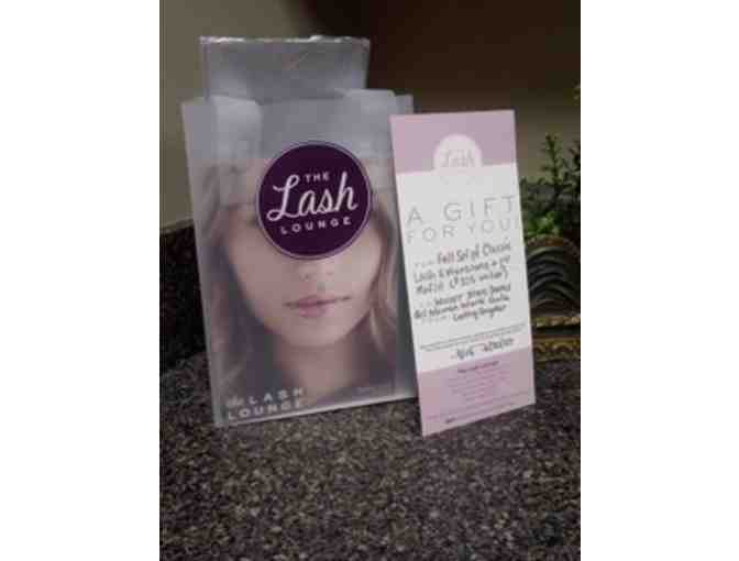 The Lush Lash Lounge - Set of Lashes and First Refill